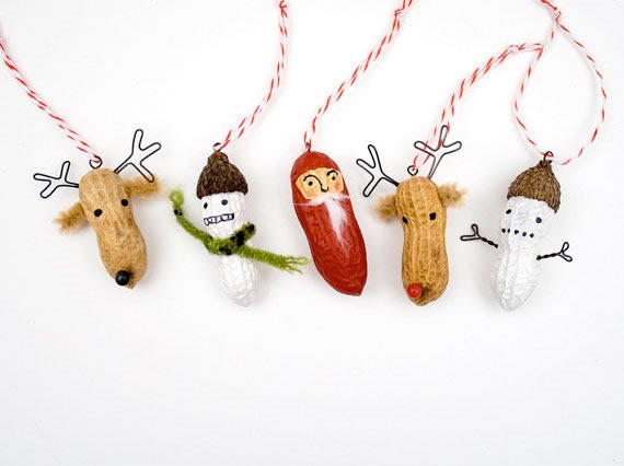 25 increibles  adornos de navidad hechos a mano - personajes hechos de mani