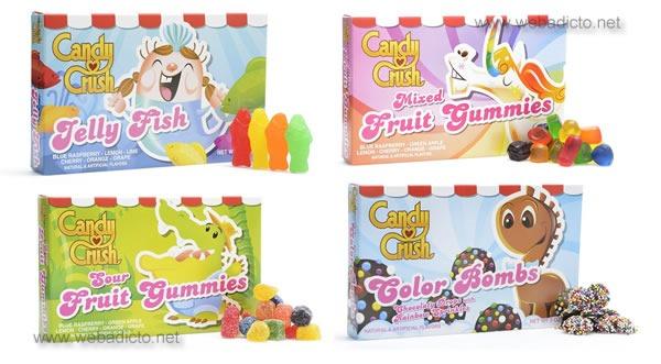 caramelos reales de candy crush saga