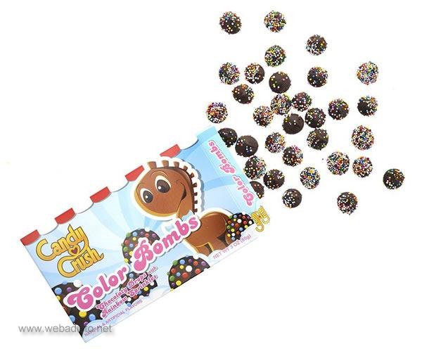 caramelos reales de candy crush saga color bombs