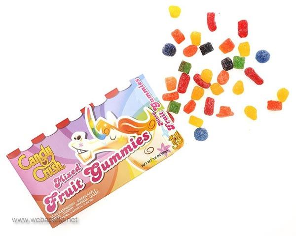 caramelos reales de candy crush saga mixed fruit gummies