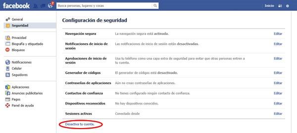 como bloquear facebook temporalmente