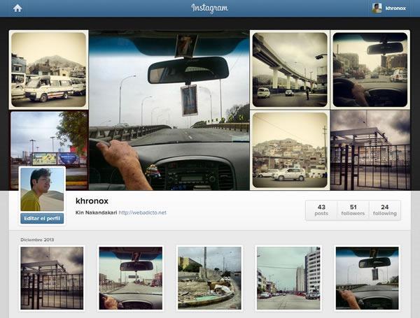 como compartir images privadas por instagram