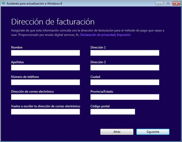 comprar-descargar-windows-8-pro-clave-datos-personales