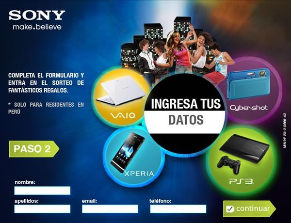 concurso-sony-gana-ps3-laptop-VAIO-smartphone-Xperia-camara-cyber-shot-formulario
