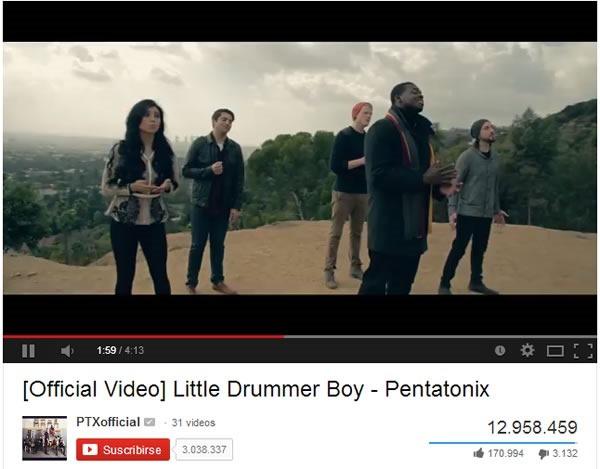 Cover de Canción Navideña se Convierte en Video Viral