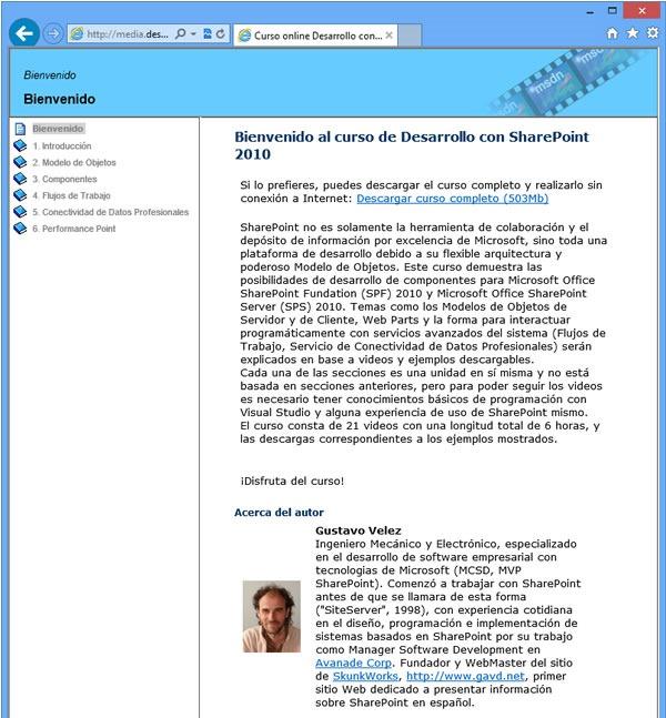 curso-online-sharepoint-2010-internet-explorer-curso-completo