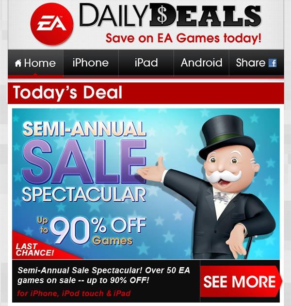 ea-games-ofertas-juegos-iphone-ipod-touch-ipad-99-centavos-julio-2012