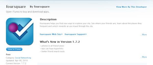 foursquare-iphone