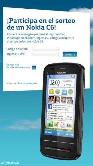gana-smartphone-nokia-c6-concurso-movistar-whatsapp