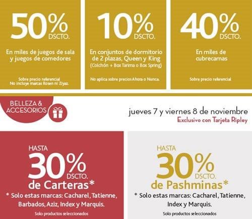 hoy cierrapuertas ripley descuentos 8 noviembre 2013 peru 1