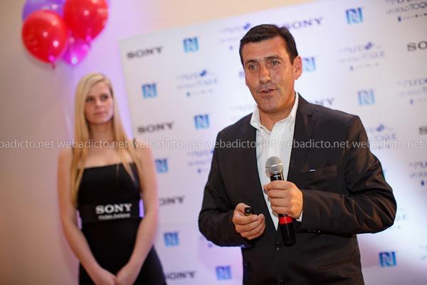 Felipe Gómez, Gerente de Ventas Reginal de Sony Mobile
