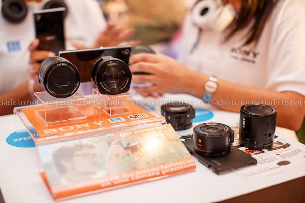 Sony Smart Lens QX100 y QX10: Hands-On y Primeras Impresiones