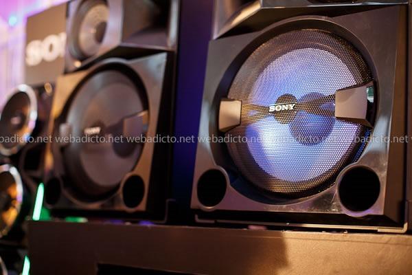equipos de sonido de Sony