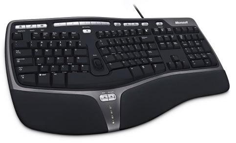 mejores-teclados-microsoft-natural-ergonomic-4000