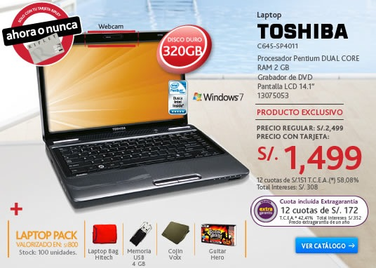 oferta-ripley-laptop-toshiba-c645