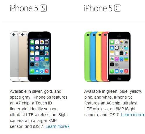 Precios oficiales del iPhone 5C y iPhone 5S Desbloqueados