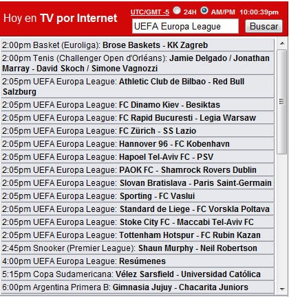 Rojadirecta Fútbol En Vivo Gratis Por Internet