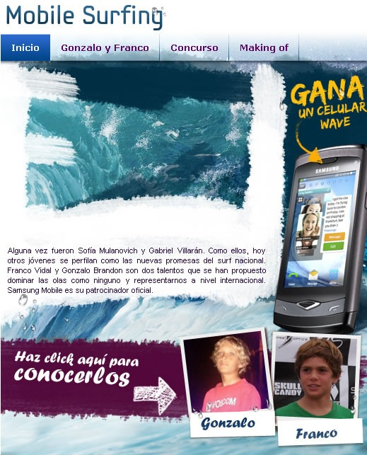 samsung-mobile-surfing-concurso-wave-8500S