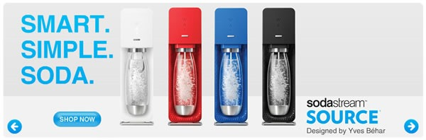 sodastream kit para preparar gaseosas en casa
