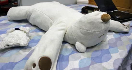 solucion-ronquidos-robot-oso-almohada