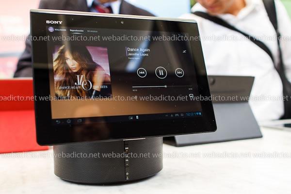 Xperia Tablet Speaker Dock modelo SGP-SPK1