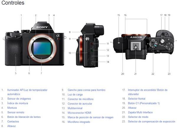 sony alpha 7 y sony alpha 7r mirrorless full frame controles 2[2]