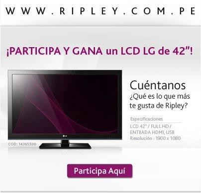 sorteo-televisor-lcd-42-pulgadas-ripley-peru