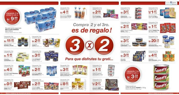 Cat logo tottus ofertas 3x2 julio 2011 - Hogarium catalogo de ofertas ...
