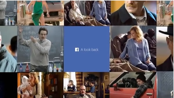 video look back facebook walter white