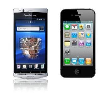 xperia-arc-versus-iphone-4-comparativa